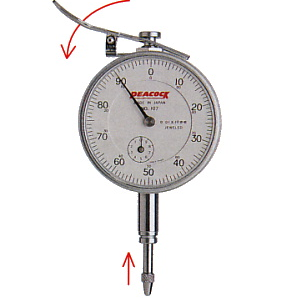 Dial indicator gauges 107-LL